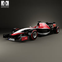 3D model marussia mr03 2014