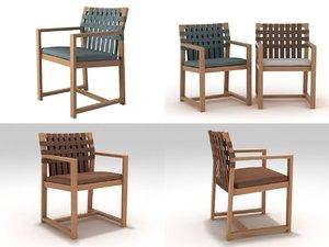 3D network 159 armchair