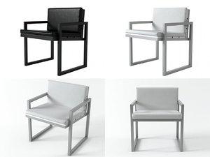 3D saler dining armchair
