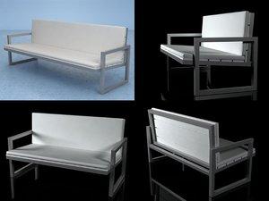 3D saler 2 3-seat model