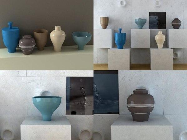 3D vases 01