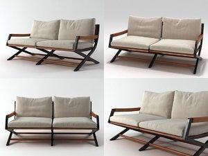 emily bench 3D