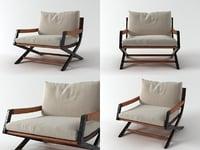 emily armchair 3D model