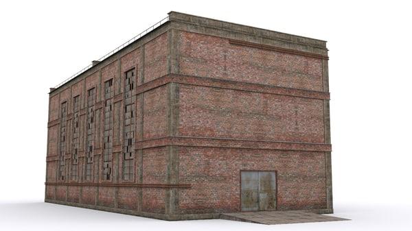 3D model house warehouse