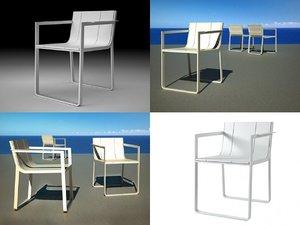 flat chair model