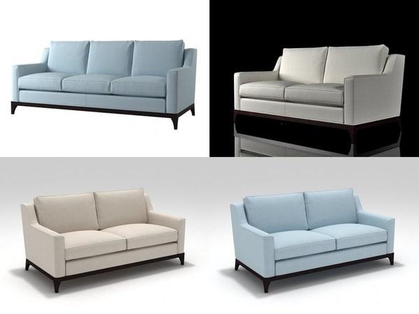 lysander sofa 3D model