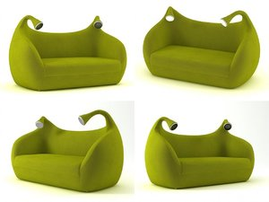 3D morfeo sofa model