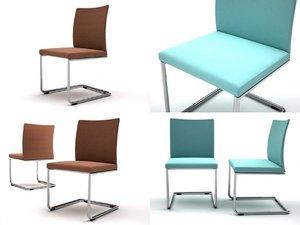 milano soft chair r 3D
