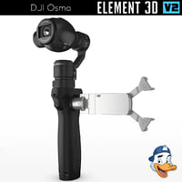 dji osmo element 3D model