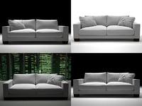 status sofa 02 3D model