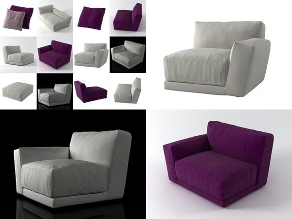luis sofa modules model