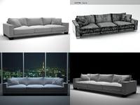 3D model status sofa