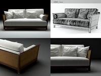 zanzibar sofa 3D