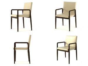 francisco chair 3D model