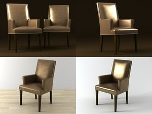 3D costes armchair model