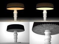 3D calvin lamp
