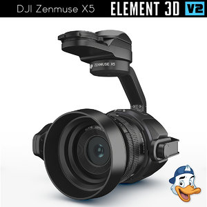 dji zenmuse x5 element model