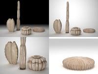 3D model sculture