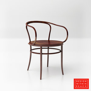 3D dwr era armchair model