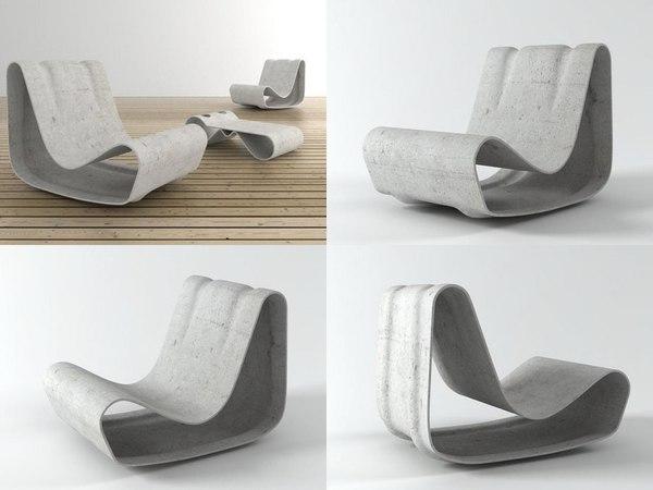3D loop chair