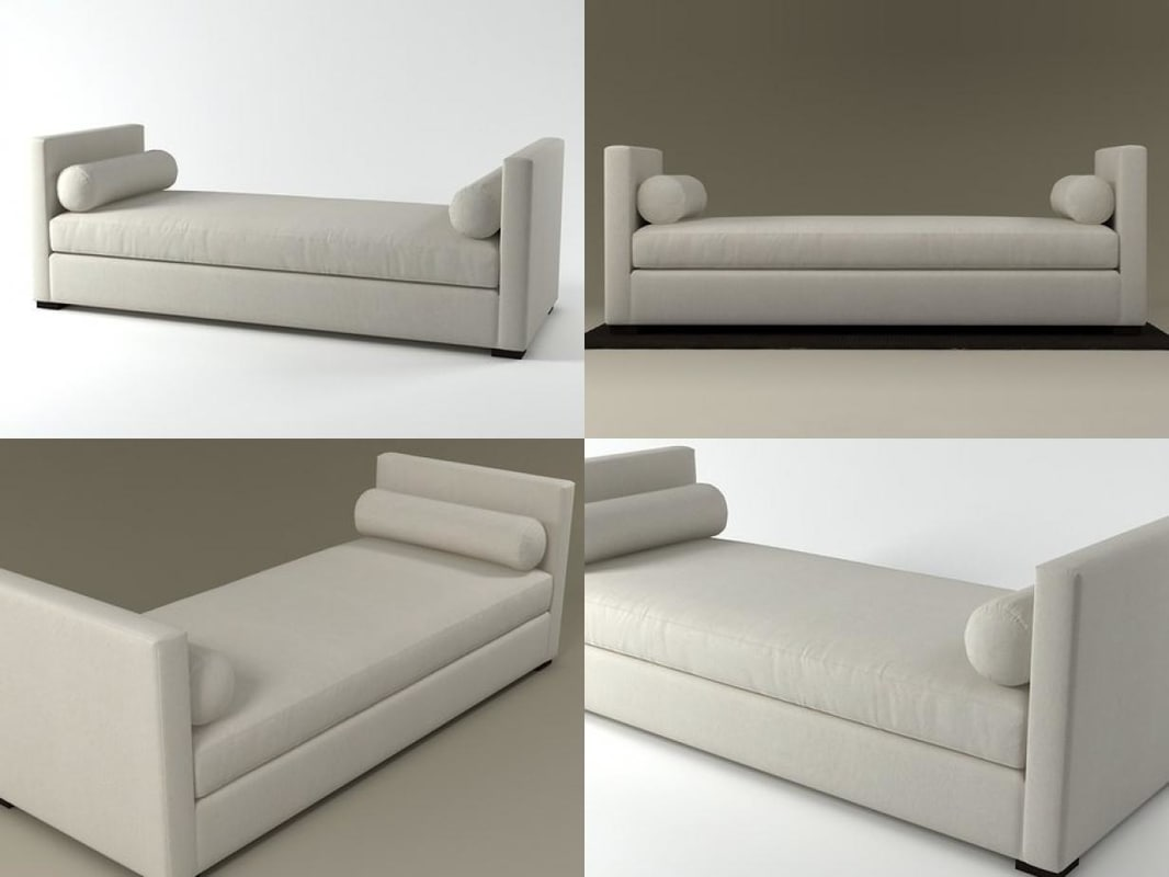 3D model belmondo dormeuse