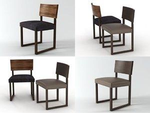 trineo chair 3D model