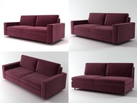 air sofa 180 3D model