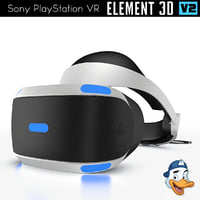 sony playstation vr element 3D