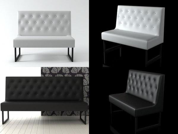 3D menu sofa b model