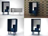 butterfly cappellini 3D