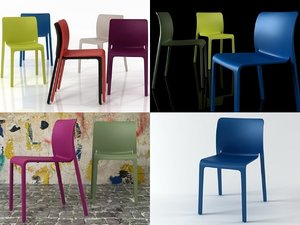 3D chair magis model