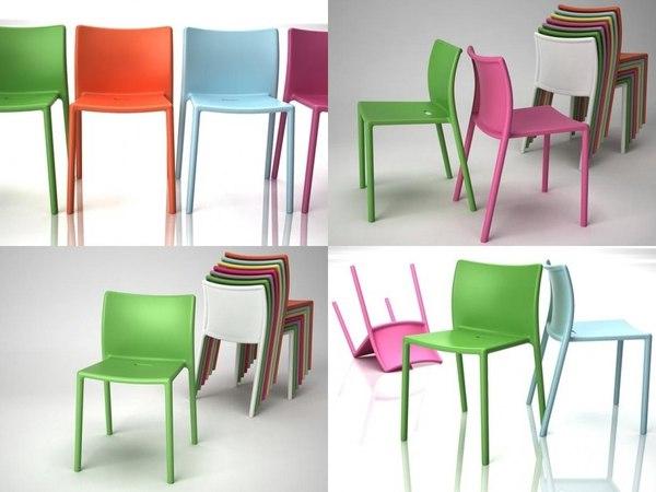 3D air chair