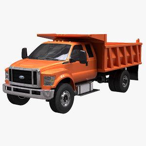 f-650 dump model