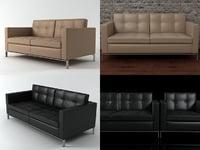 3D foster 502 sofa