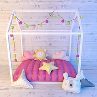 3D little love bed