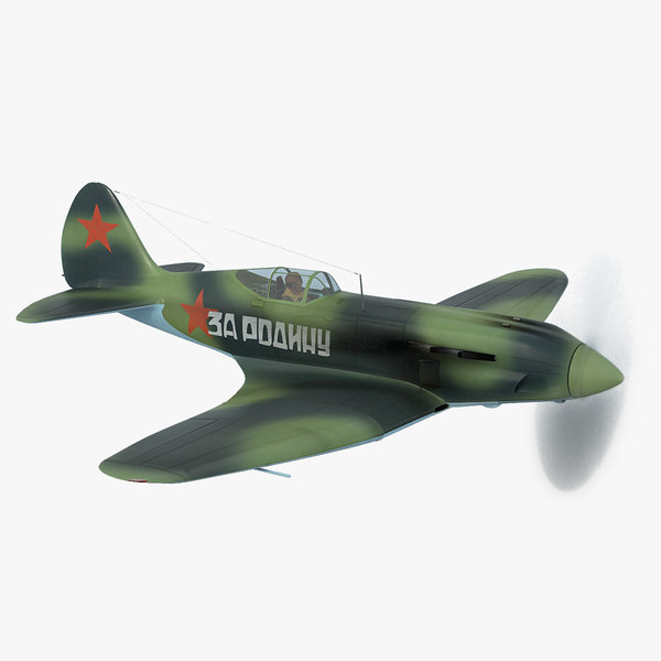 mig-3 pilot soviet fighter model
