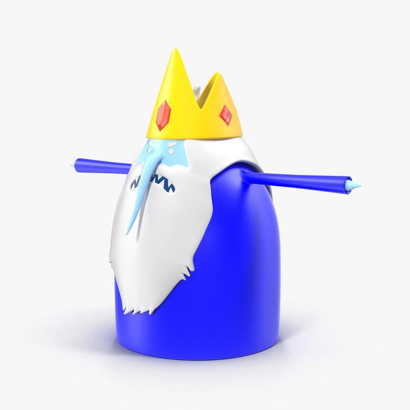 3D model ice king