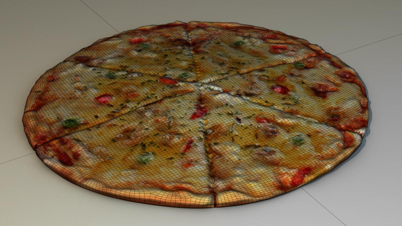 pizza 3D