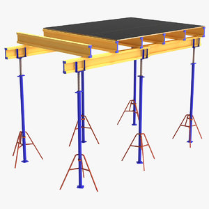 horizontal formwork 2 3D model