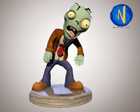 Stylized Zombie Character Rigged Animated