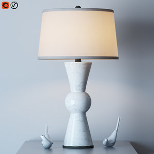 3D upbeat table lamp