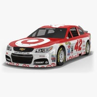 chip ganassi racing nascar 3D