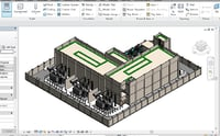 3D model substation revit