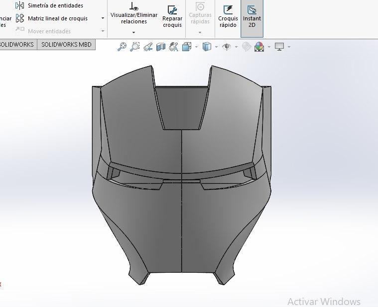3D superhero ring model