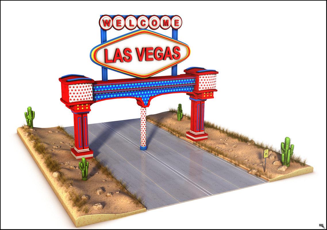 vegas unity 3D model