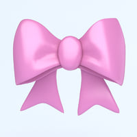 icon bow 3D