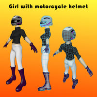 motorcycle helmet 3D