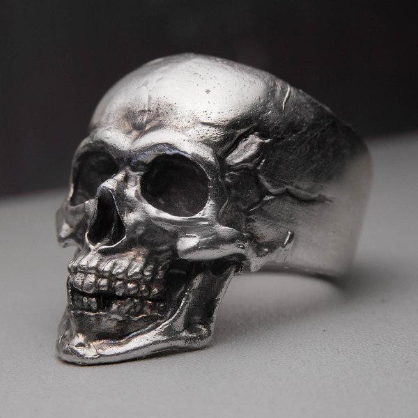 skull ring 3D model