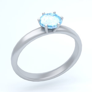 3D model icon ring