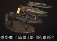 Gunblade Vintage Revolver